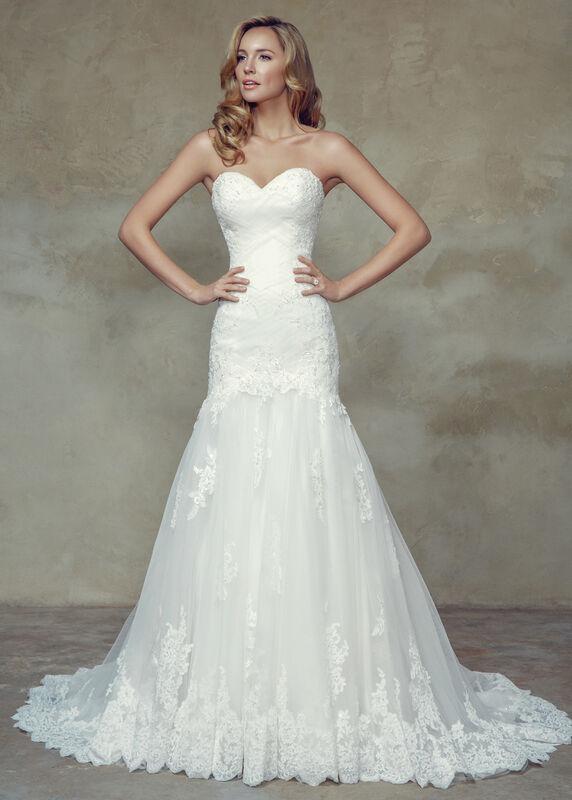 Свадебное платье напрокат Mia Solano Платье свадебное «Brianna» - фото 1