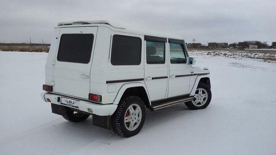 Прокат авто Mercedes-Benz Gelandewagen White - фото 4