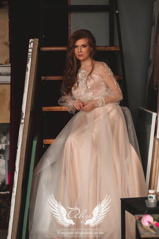 """Свадебное платье напрокат ALIZA свадебное платье  """"Saffi"""" - фото 2"""