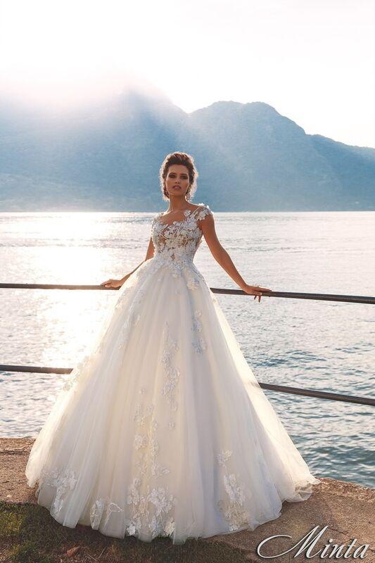 Свадебный салон Bonjour Galerie Свадебное платье Minta из коллекции Royal Luxury - фото 1
