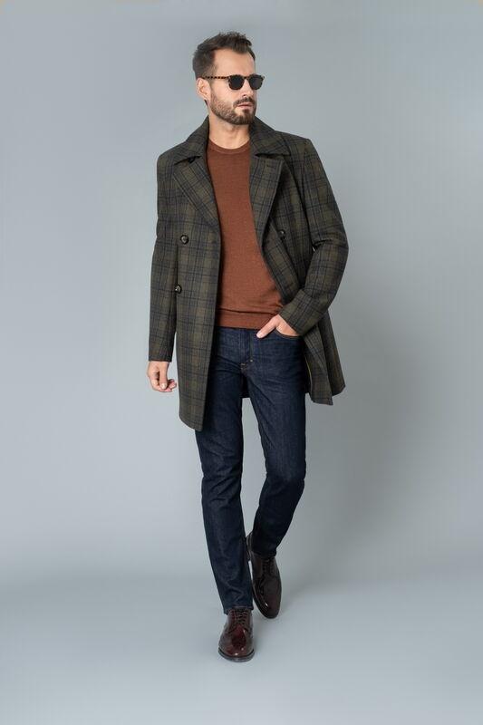 Верхняя одежда мужская Etelier Пальто мужское демисезонное 1М-9411-1 - фото 1