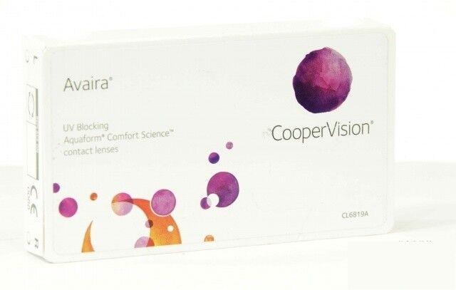 Линзы Cooper Vision Контактные линзы Avaira - фото 1