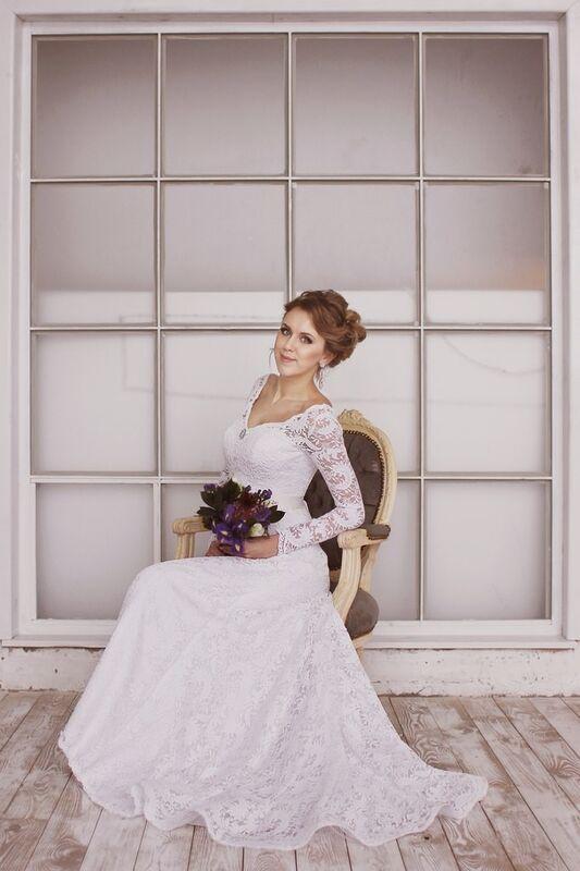 Свадебное платье напрокат ALIZA Свадебное платье «Mishel» Diva Vivien - фото 9