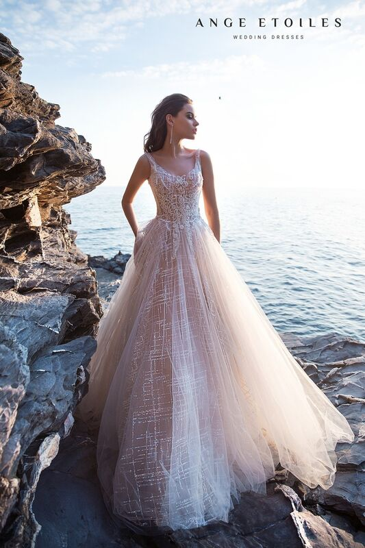 Свадебное платье напрокат Ange Etoiles Свадебное платье Ali Damore Quincella - фото 2