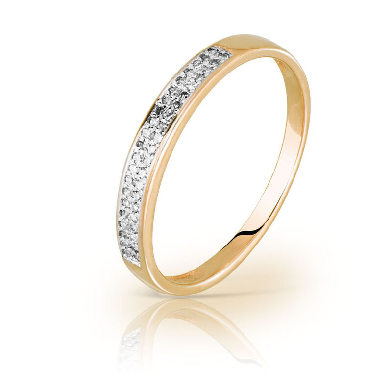 Ювелирный салон Jeweller Karat Кольцо золотое с бриллиантами арт. 1214517 - фото 1