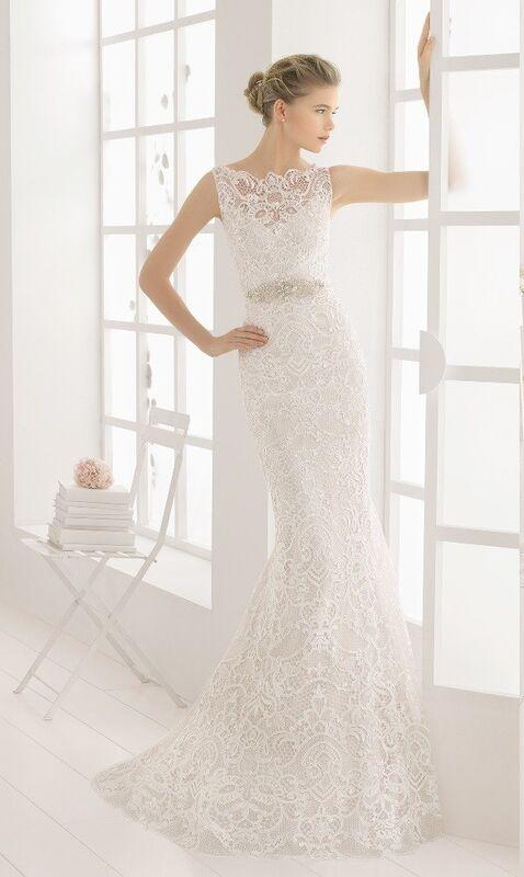 Свадебное платье напрокат Rosa Clara Платье свадебное Malone - фото 1