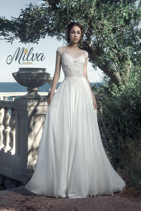 Свадебное платье напрокат Milva Платье свадебное Maldiva - фото 1