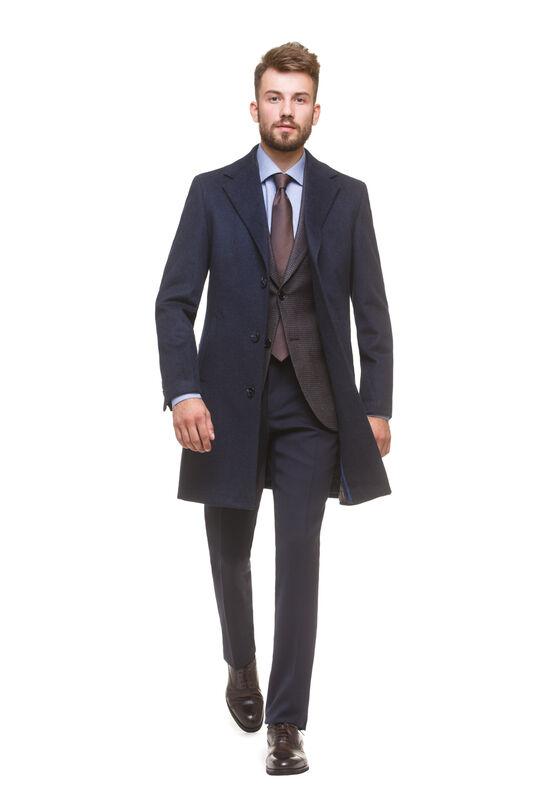 Верхняя одежда мужская HISTORIA Пальто мужское, темно синее - фото 1