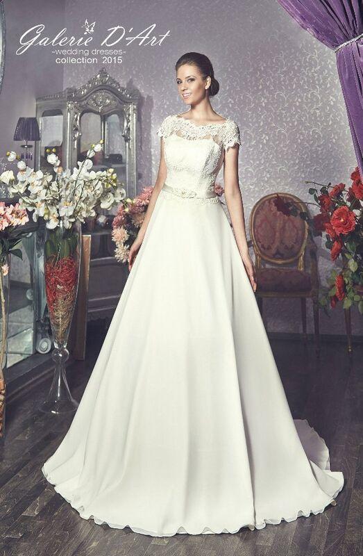 Свадебное платье напрокат Galerie d'Art Платье свадебное «Julietta 1» из коллекции BESTSELLERS - фото 1