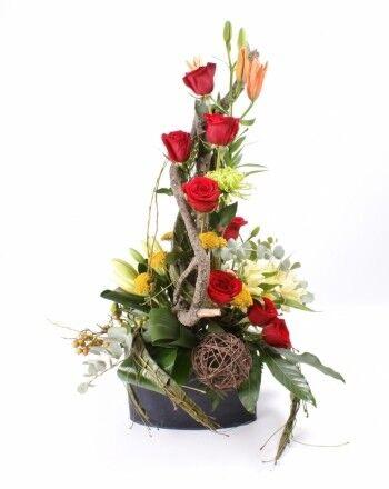 Магазин цветов Ветка сакуры Мужской букет №29 - фото 1