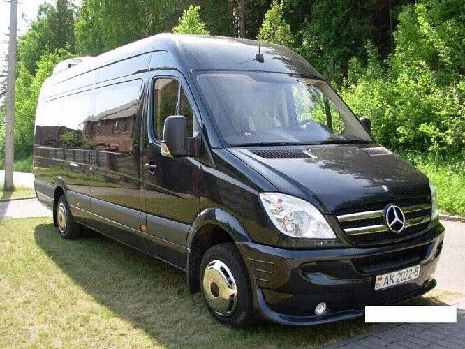 Прокат авто Mercedes-Benz Sprinter чёрный - фото 1