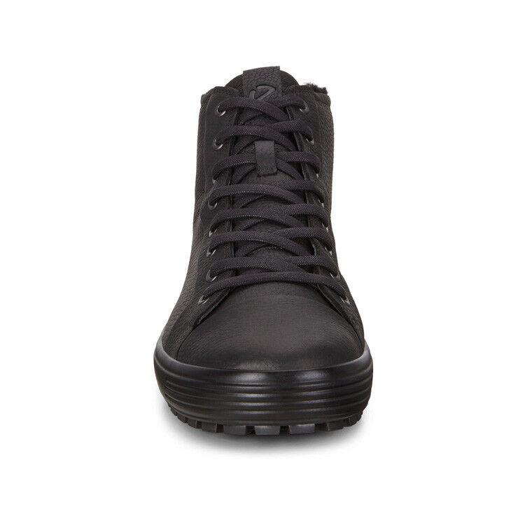 Обувь мужская ECCO Кеды высокие SOFT 7 TRED 450214/01001 - фото 4