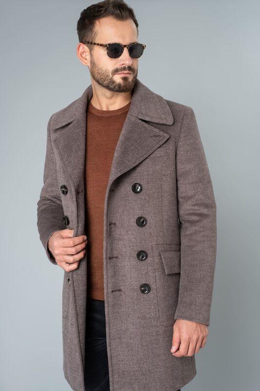 Верхняя одежда мужская Etelier Пальто мужское утепленное 6М-9093-1 - фото 2