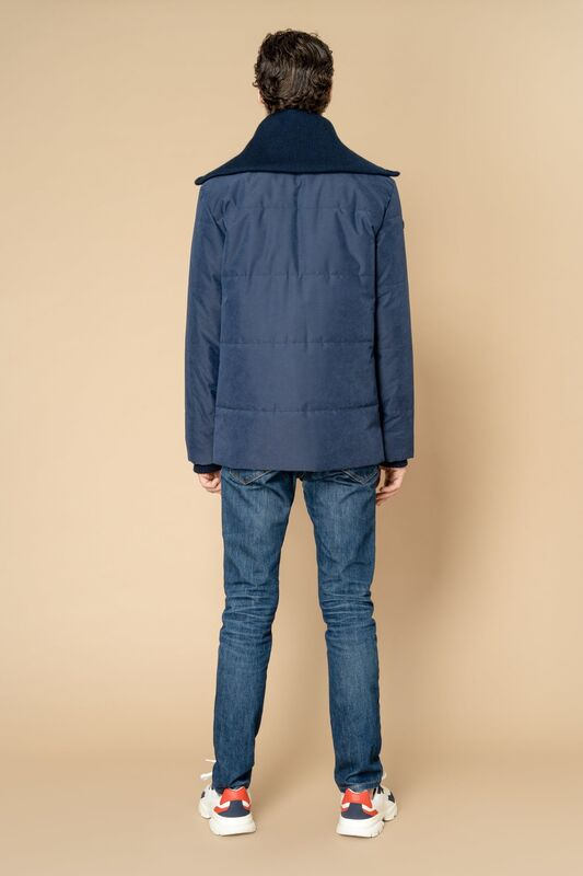 Верхняя одежда мужская Etelier Куртка мужская плащевая утепленная 4М-8523-1 - фото 6