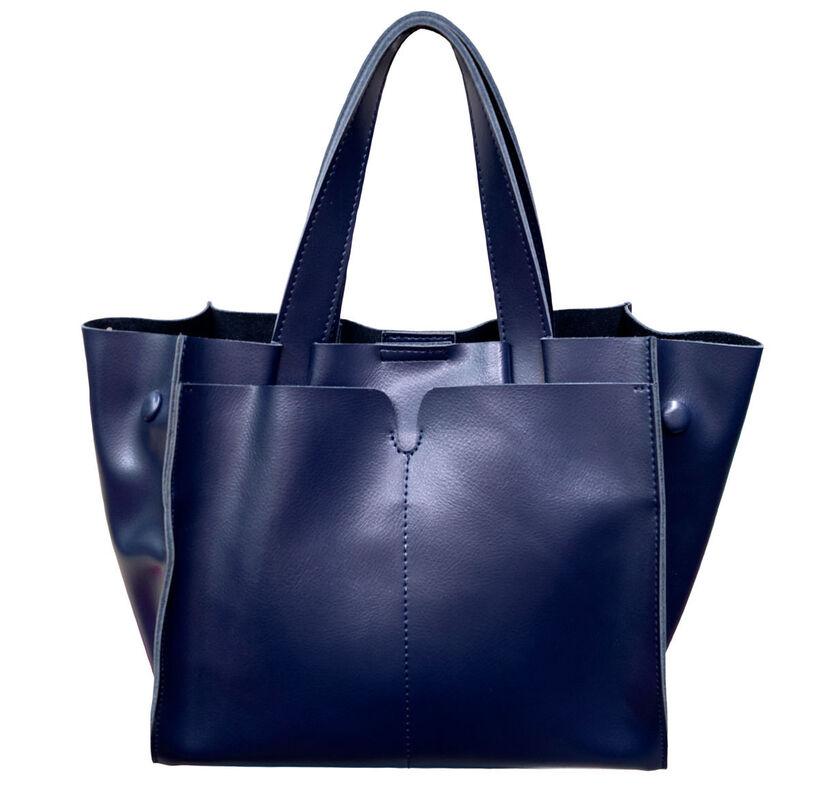 Магазин сумок Poshete Сумка женская синяя 859208 - фото 1