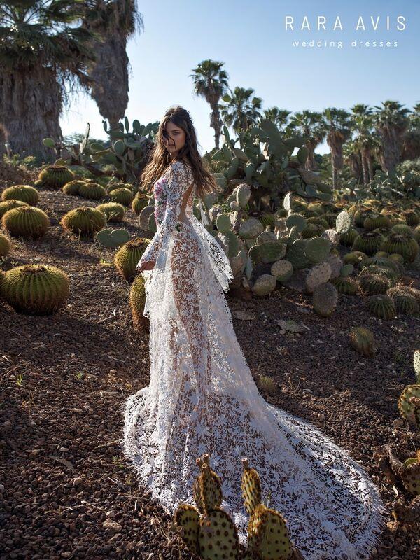 Свадебный салон Rara Avis Платье свадебное Wild Soul Klark - фото 4