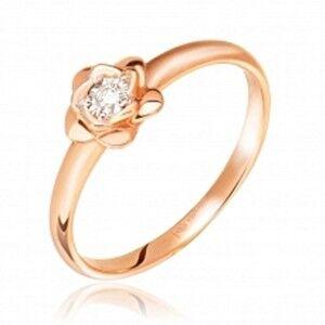 Ювелирный салон Jeweller Karat Кольцо золотое с бриллиантами арт. 3213140/9 - фото 1