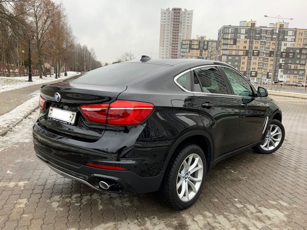 Прокат авто BMW X6 2016 г.в. - фото 5