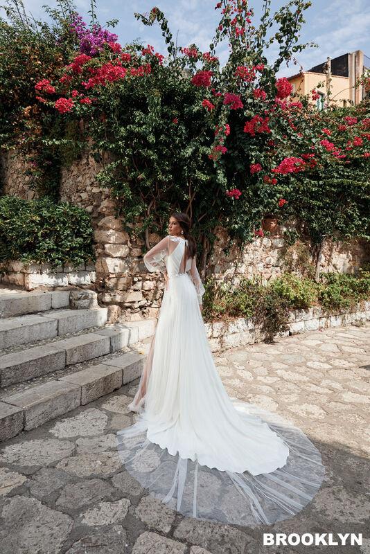 Свадебный салон Bonjour Galerie Платье свадебное BROOKLYN из коллекции BELLA SICILIA - фото 3