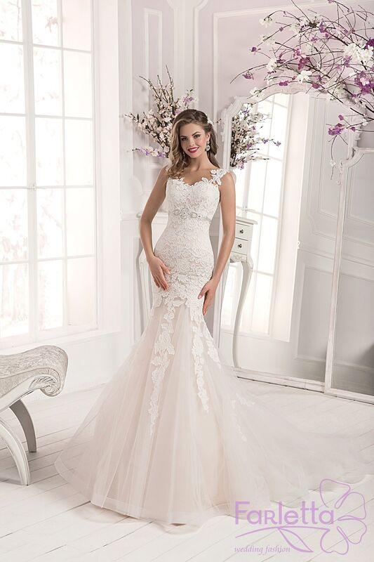 Свадебное платье напрокат Farletta Платье свадебное Orhid - фото 1