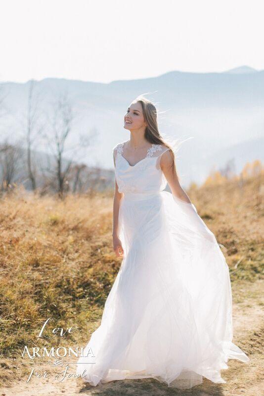 Свадебное платье напрокат Lanesta Свадебное платье Love - фото 1