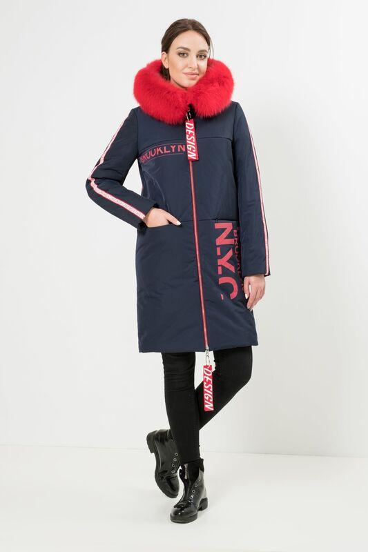 Верхняя одежда женская Elema Пальто женское плащевое утепленное 5-8100-1 - фото 3