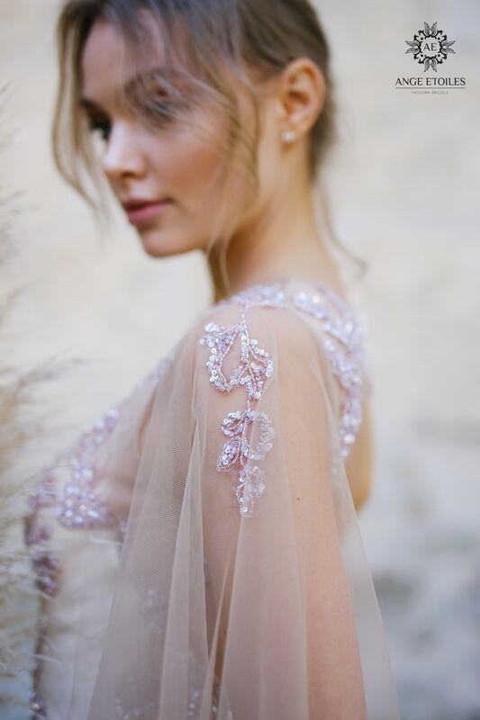 Свадебный салон Ange Etoiles Свадебное платье AEriality Collection Eva - фото 2