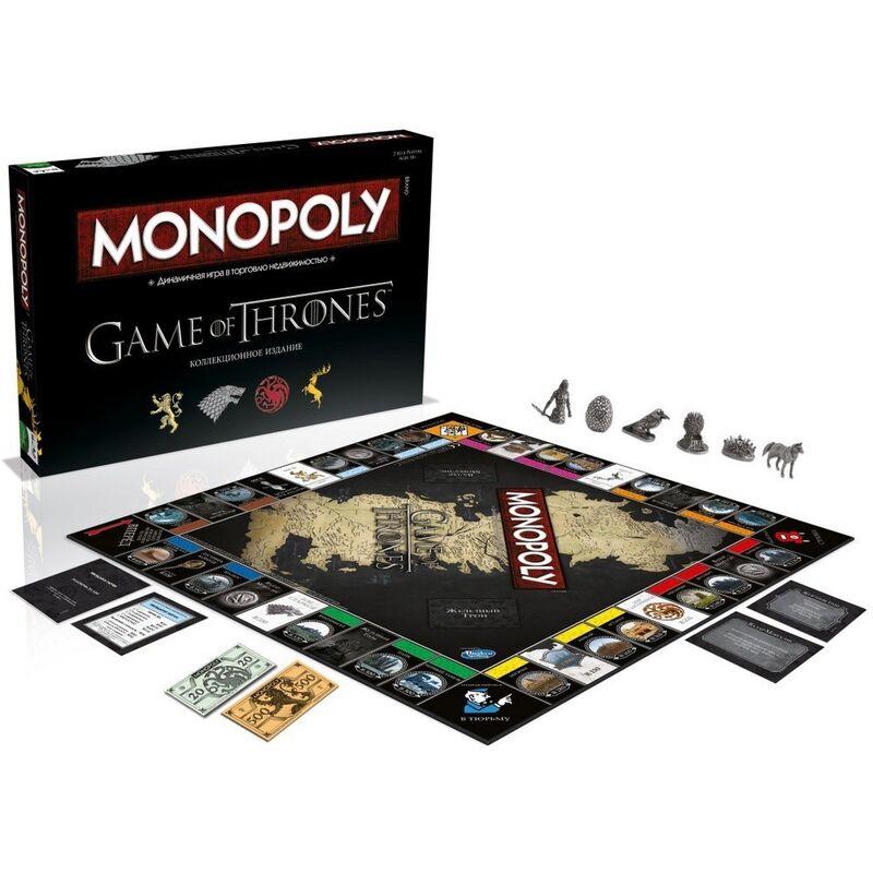 Магазин настольных игр Hasbro Настольная игра «Монополия. Игра престолов» - фото 2