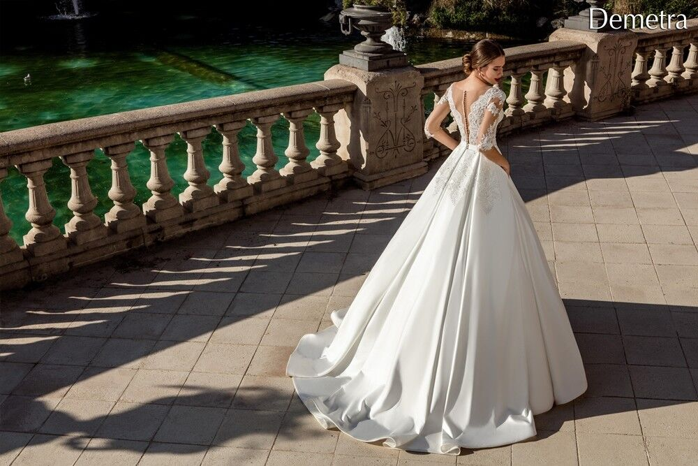 Свадебный салон Bonjour Свадебное платье «Demetra» из коллекции LA POESIE 2017 - фото 4