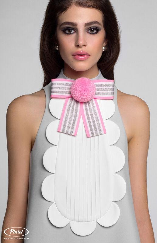 Платье женское Pintel™ Мини-платье А-силуэта без рукавов Chito - фото 2
