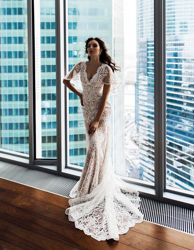 Свадебное платье напрокат Natalia Romanova Свадебное платье  Diar - фото 2