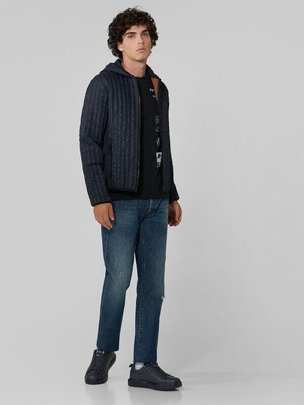 Кофта, рубашка, футболка мужская Trussardi Футболка мужская 52T00393-1T003605 - фото 3