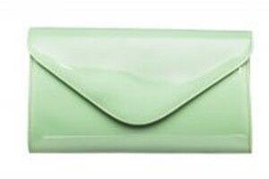 Магазин сумок Vera Pelle Клатч зеленый 4-03 - фото 1
