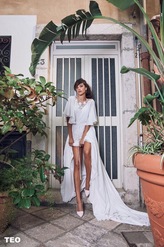 Свадебный салон Bonjour Galerie Свадебное платье TEO из коллекции BELLA SICILIA - фото 4