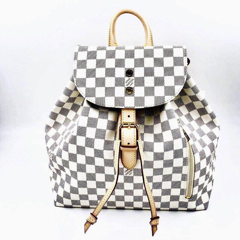 Магазин сумок Louis Vuitton Рюкзак белый - фото 1