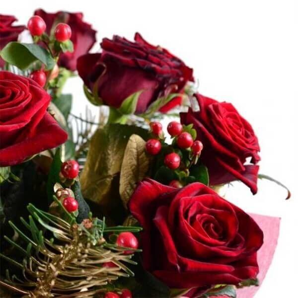 Магазин цветов Букетная Букет «Новогоднее Поздравление» - фото 3