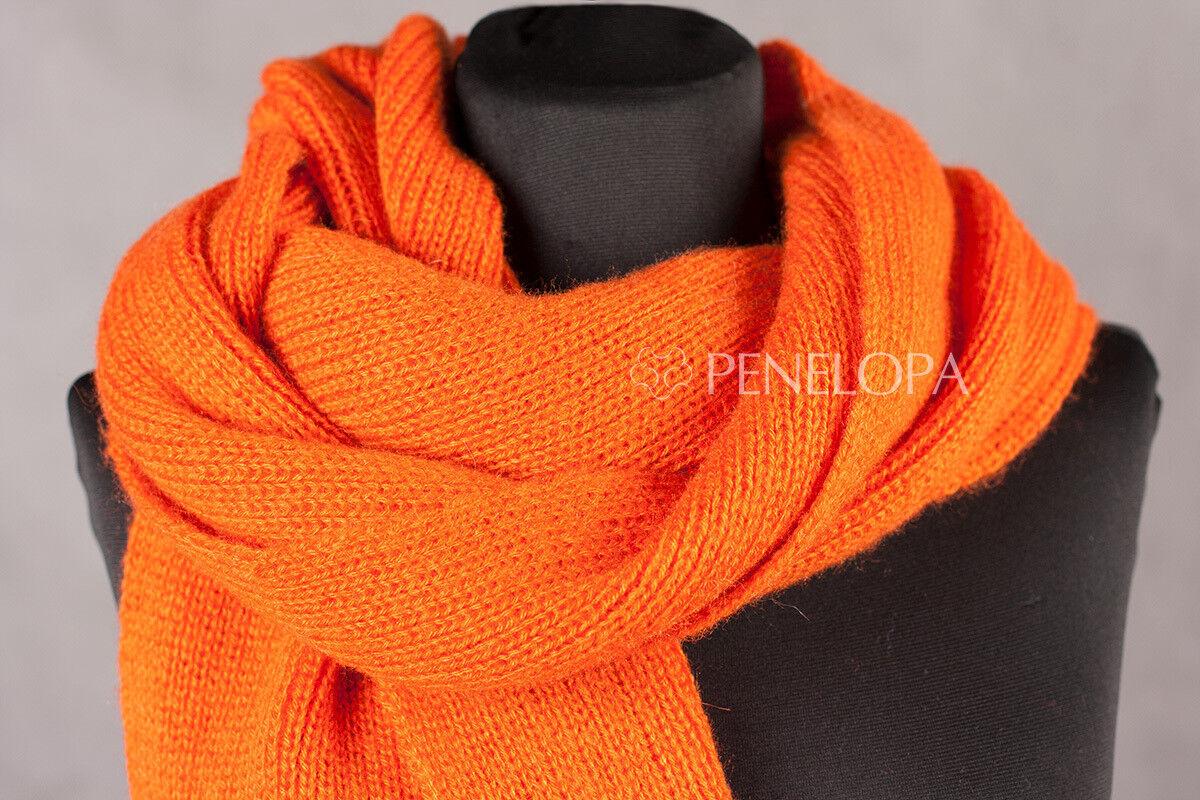 Шарф и платок PENELOPA Яркий вязаный шарф M2 - фото 2