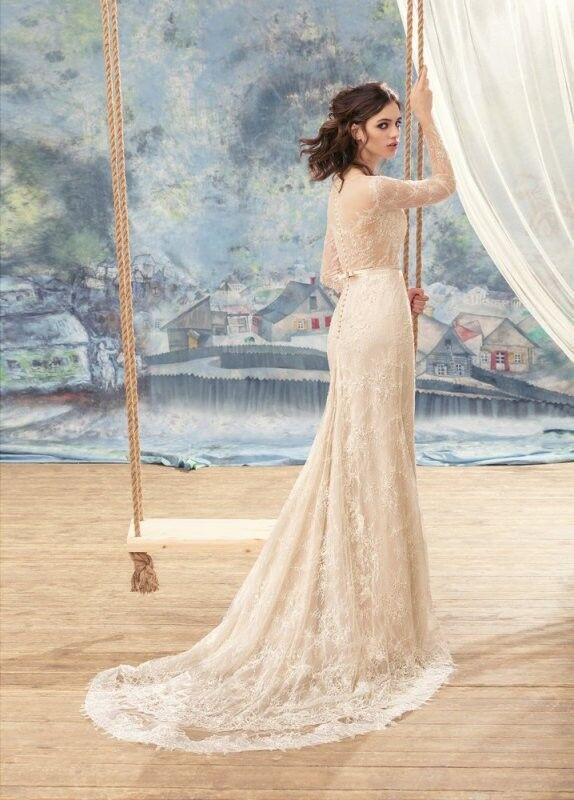 Свадебный салон Papilio Свадебное платье «Агуйа» 1717L - фото 2