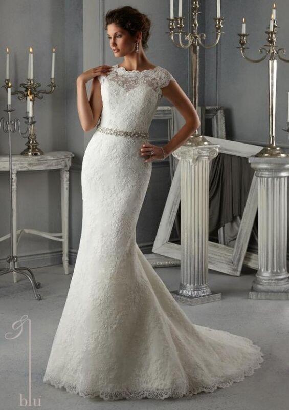 Свадебное платье напрокат Mori Lee Платье свадебное Blu 5268 - фото 1
