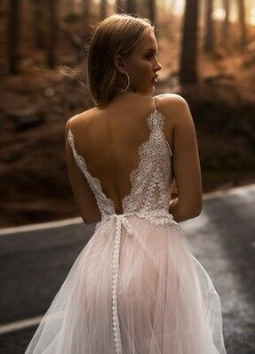 Свадебное платье напрокат Blammo-Biamo Свадебное платье Dream Ocean Lykia - фото 3