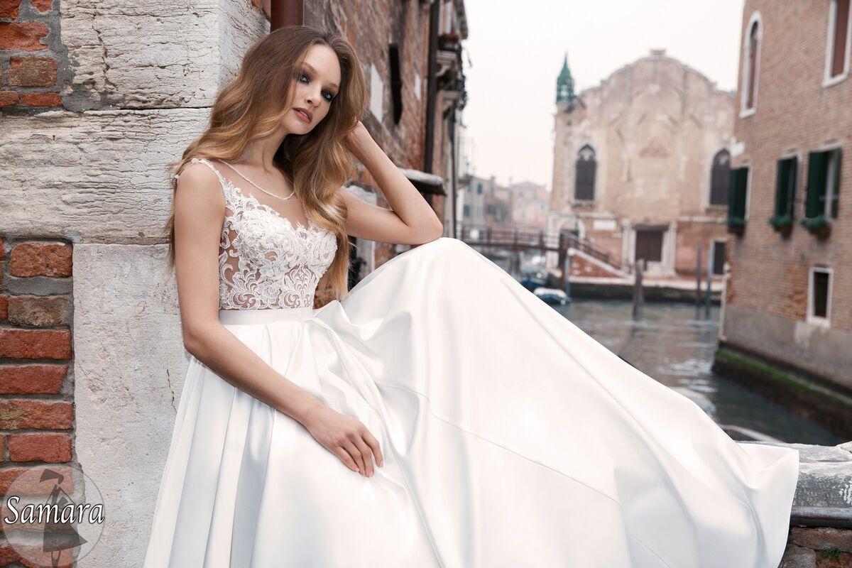 Свадебное платье напрокат Bonjour Платье свадебное «Samara» из коллекции LE DELICE 2018 - фото 4