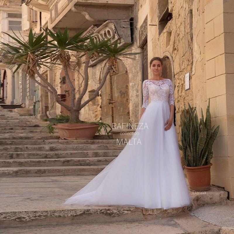 Свадебное платье напрокат Rafineza Платье свадебное Darina - фото 1