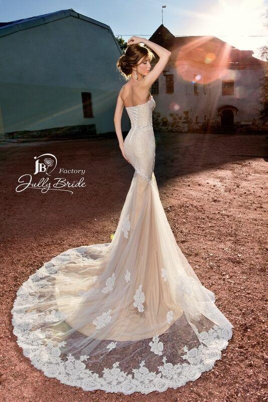 Свадебное платье напрокат Jully Bride Factory Платье свадебное Malibu - фото 3