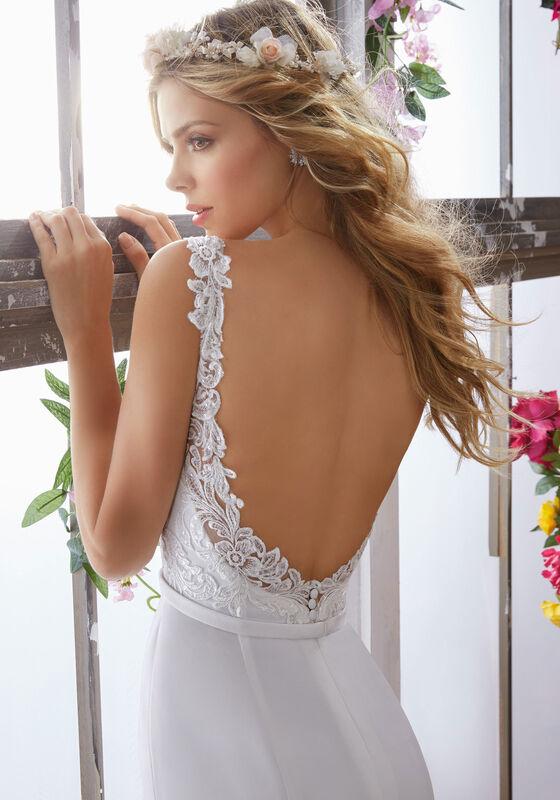 Свадебное платье напрокат Mori Lee Свадебное платье 6853 - фото 3