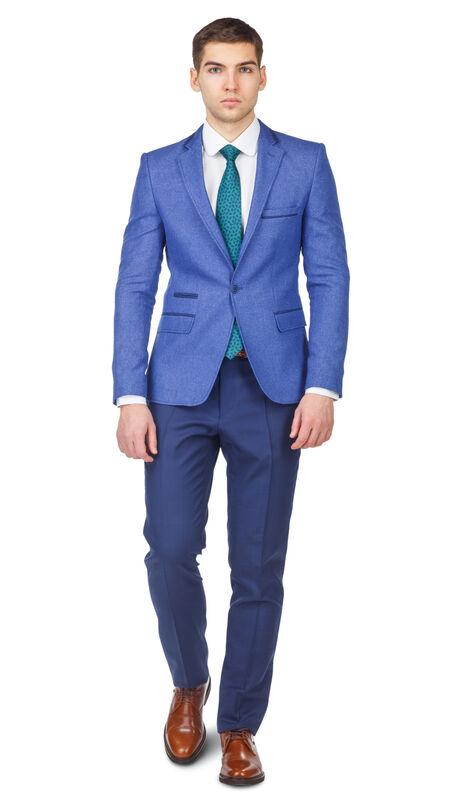 Пиджак, жакет, жилетка мужские HISTORIA Пиджак из фактурной ткани - фото 1