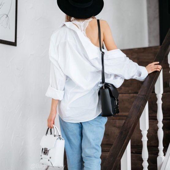 Магазин сумок Vezze Кожаная женская сумка C00465 - фото 2