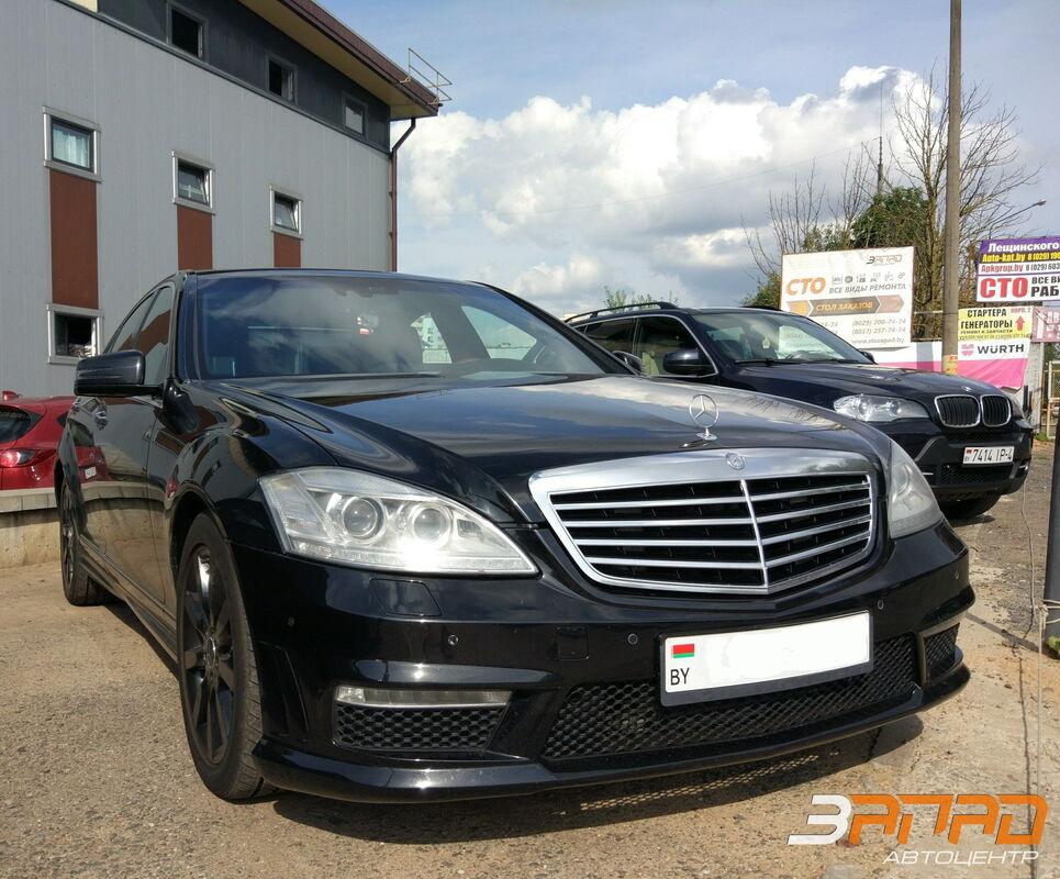 Аренда авто Mercedes-Benz S-класс W221 Черный - фото 1