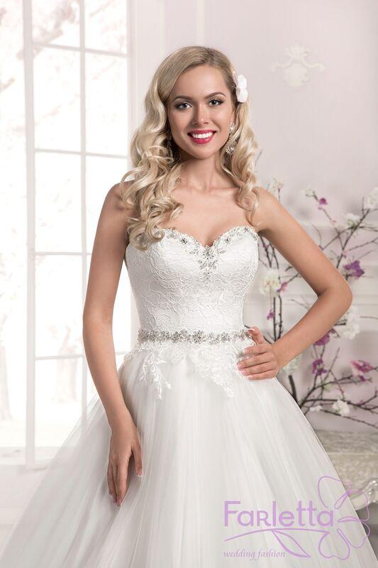 Свадебное платье напрокат Farletta Платье свадебное Laur - фото 2