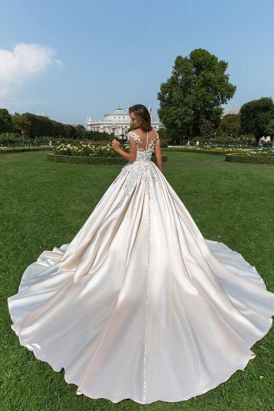 Свадебное платье напрокат Crystal Orianna - фото 2