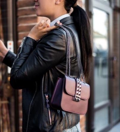 Магазин сумок Vezze Кожаная женская сумка C00404 - фото 1